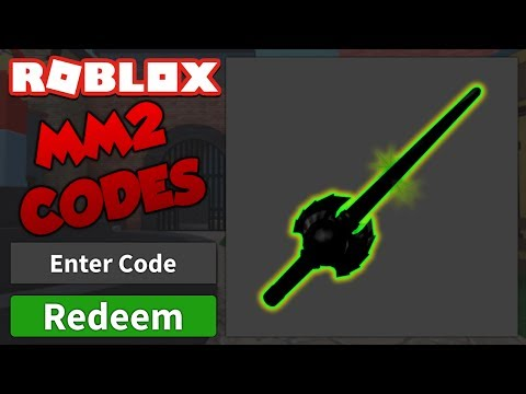 All Current Free Knife Codes Roblox Murder Mystery 2 Youtube
