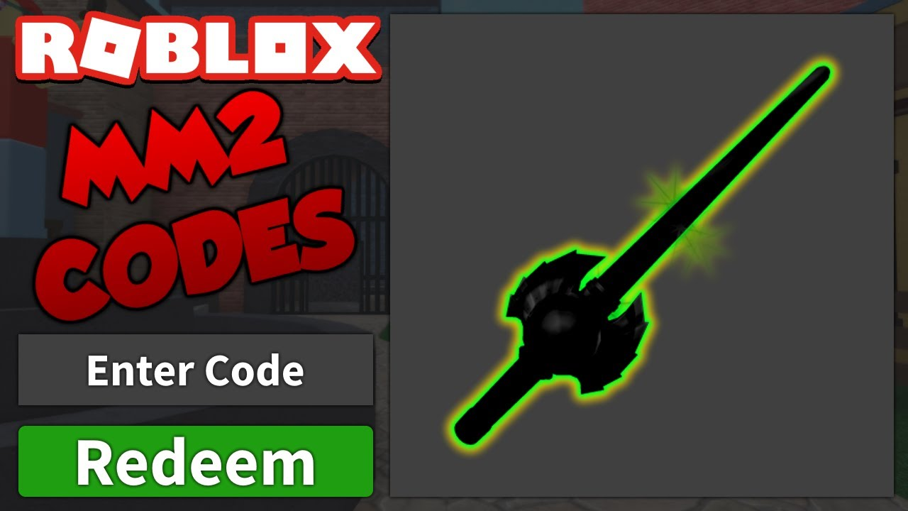 roblox murderer mystery 2 godly codes