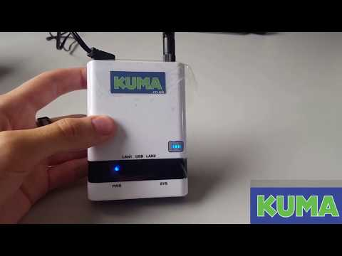 Kuma Wireless WiFi Hotspot Kit V2 Router Reset