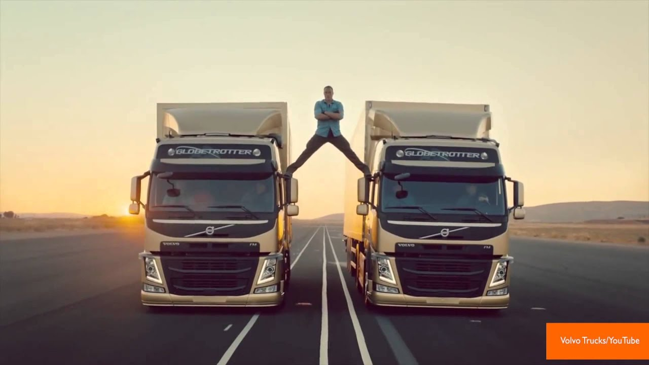 Jean-Claude Van Damme Does 'Most Epic of Splits' in Volvo Commercial