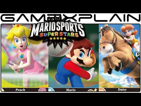 Mario Sports Superstars amiibo Cards & Release Date Revealed