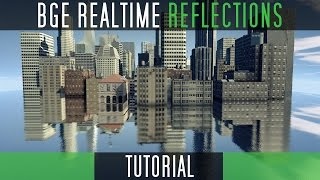 Create Realtime Blurred Reflections [Blender Game Engine]