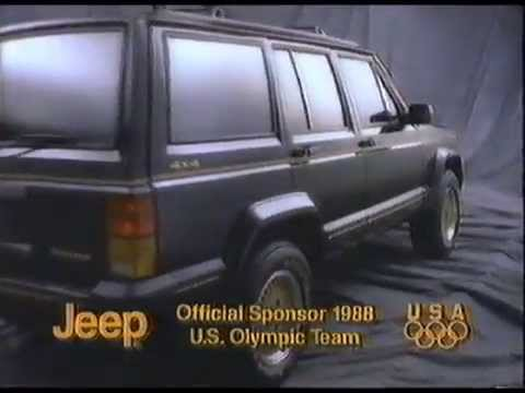 1988 Jeep Cherokee Commercial