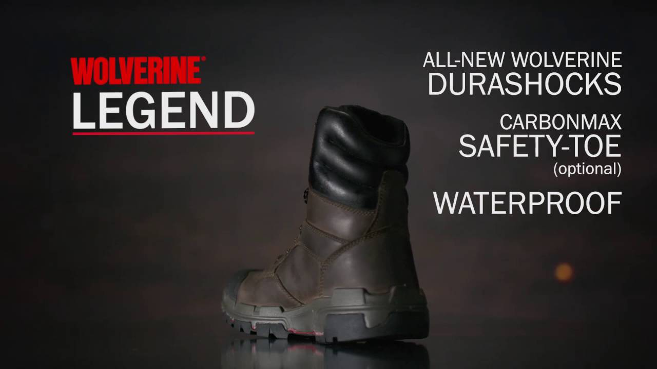 62212e928b9 Wolverine Legend Durashocks Work Boots