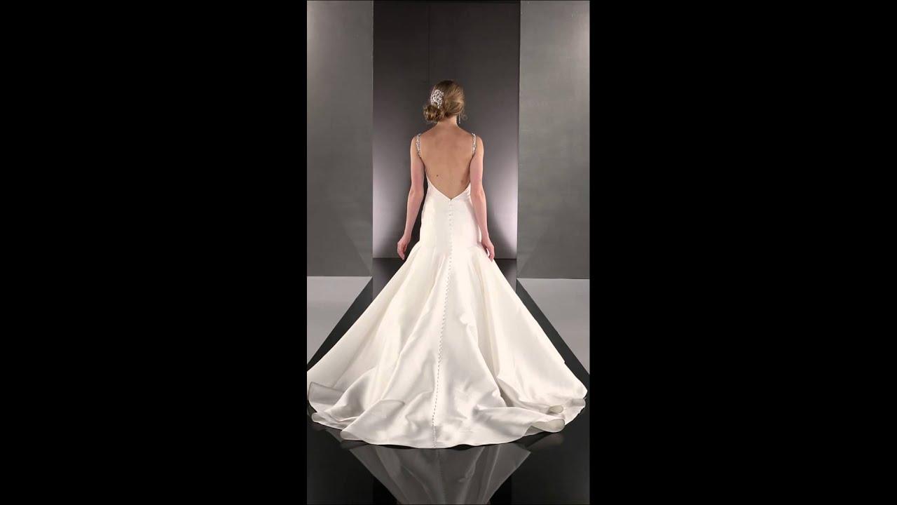 High Fashion Wedding Dresses - Martina Liana 735 - YouTube