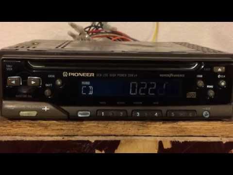 Pioneer DEH-235 Old CD Player 35x4 POWWWAAA!!!! on