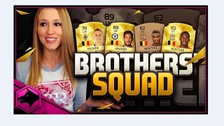 FIFA 16 SQUAD OF BROTHERS!!! FIFA 16 SQUAD BUILDER!!