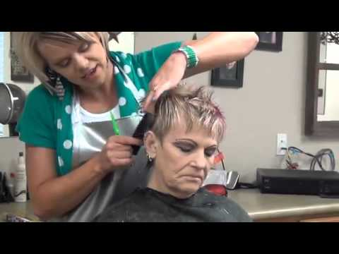 Ladies Faux Hawk Haircut   You like