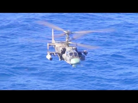 Russia MOD - Ka-52K Naval Attack Helicopter & Ka-29 Naval Assault Transport Helicopter [1080p]