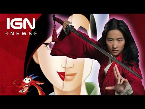 First Look at Disneys Live-Action Mulan - IGN News