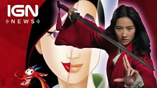 First Look at Disney's Live-Action Mulan - IGN News