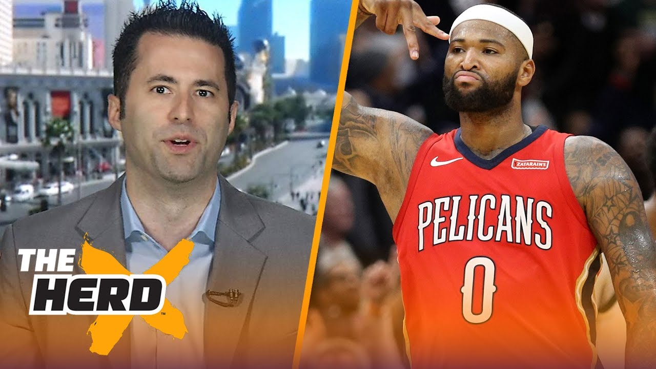 Mark Medina on how Boogie Cousins fits with Warriors squad, LeBron's Lakers | NBA | THE HERD