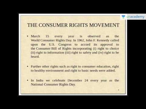 Unacademy UPSC:  Consumer Protection Laws - An Introduction