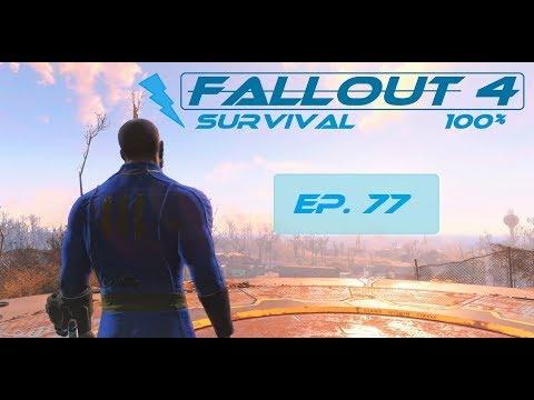 Fallout 4 Survival 100% - Ep. 77 - Castle Armor, Yangtze Sub, Harbormaster Hotel
