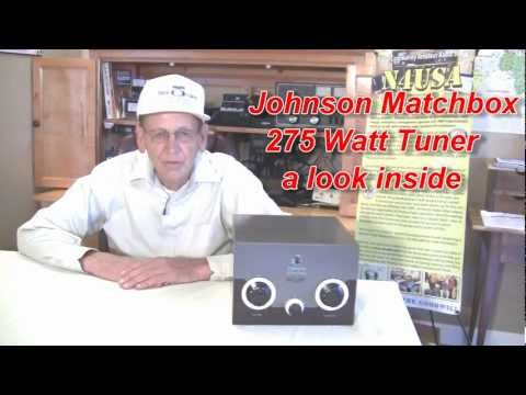 Antenna Tuner Johnson Matchbox