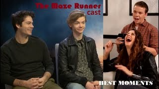 Maze Runner cast Funny & Cute Moments