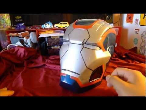 Iron Patriot - Disguise War Machine Repaint Mark 42 Halloween Helmet Review
