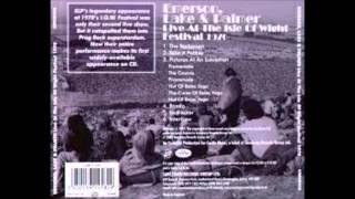 Emerson , Lake & Palmer Live Isle of Wight - 1970