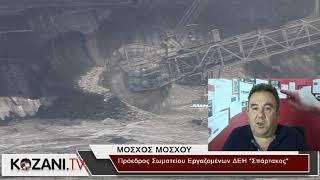 Δήλωση Μ. Μόσχου για το δυστύχημα στο ορυχείο Καρδιάς