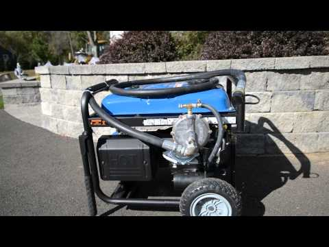Portable Near Whole House Natural Gas Generator Project