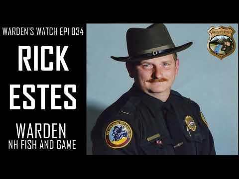 034 Rick Estes - Warden New Hampshire Fish And Game