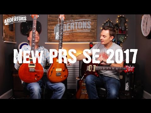 New PRS SE 2017 Range - SE For Yourself!