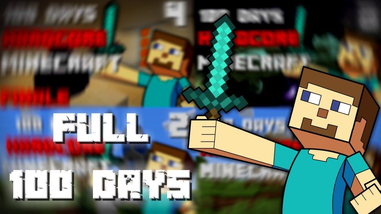 Download I Survived 100 Days In Minecraft Hardcore