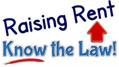Rent Increase Law for Raising Tenant's Lease Payment | American Landlord