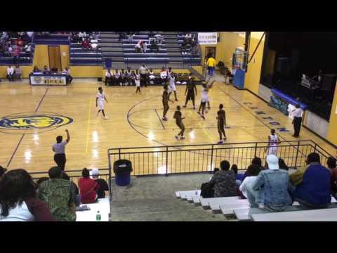 Canton Tigerland Classic November 5, 2016 Columbus vs Yazoo City Highlights by MagnoliaHoops