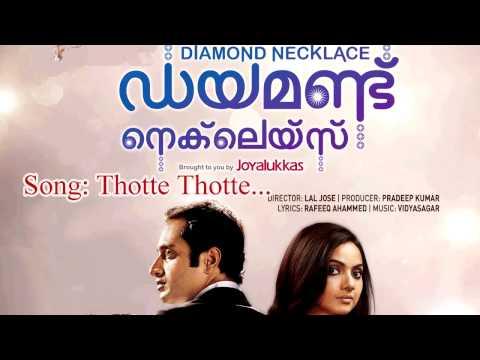 Thotte Thotte  -  Diamond Necklace
