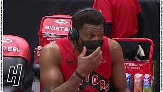 Kyle Lowry Accidentally Swears During Postgame Interview - Rockets vs Raptors | February 26, 2021