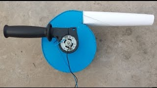 How to make a Powerful AIR BLOWER at Home