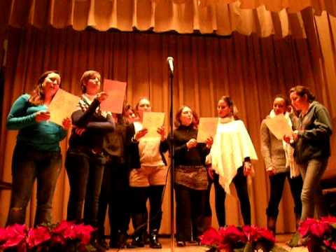 Au Pair in America Holiday Party:  French Christmas Song