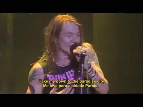 GUNS N' ROSES – PARADISE CITY (LEGENDADO EM PT)