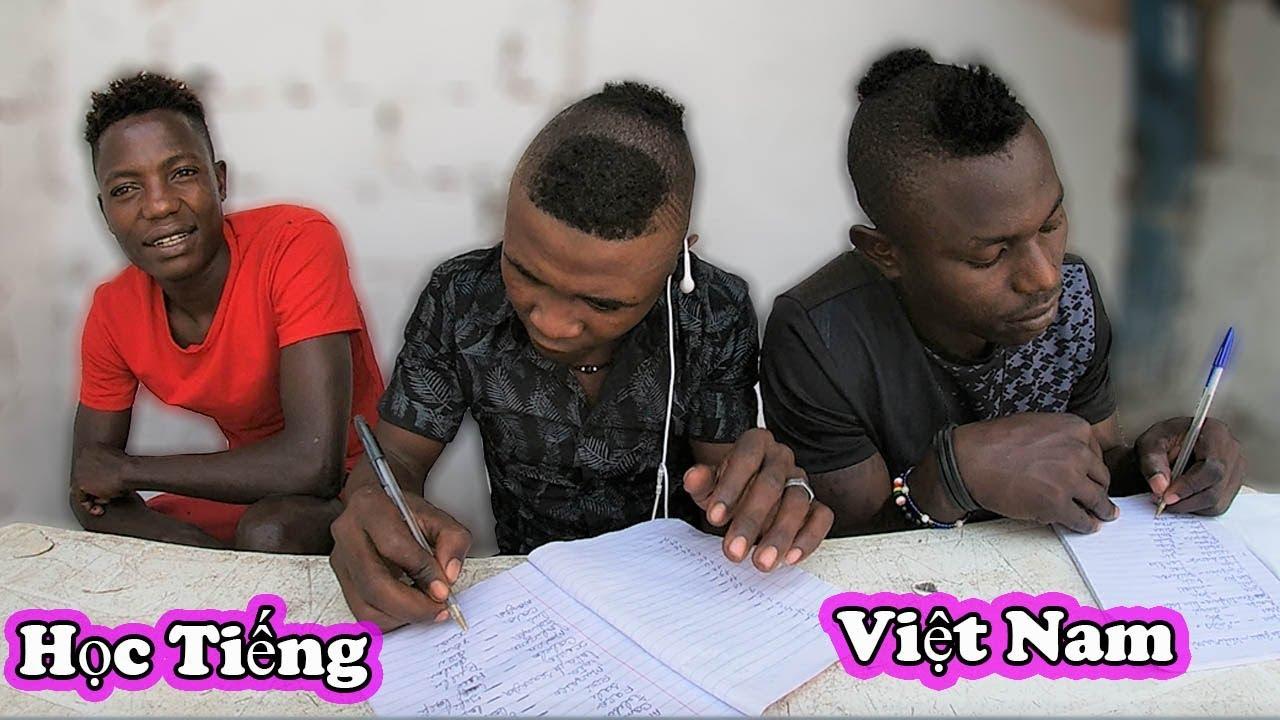 Quanglinhvlogs || Dạy Tiếng Việt Nam Cho Người Dân Châu Phi…Cười Đau Bụng (ANGOLA)