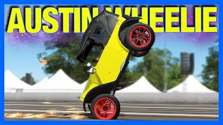 Forza Horizon 4 : The NEW Best Wheelie Car!! (FH4 Austin 7)