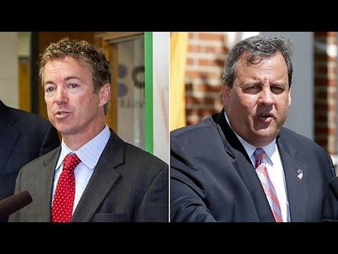 GOP Catfight: Chris Christie vs Rand Paul vs Peter King
