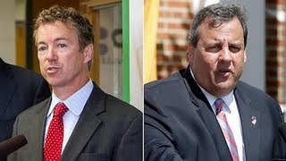 GOP Catfight: Chris Christie vs Rand Paul vs Peter King