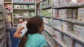 Обложка на видео о Buy Buy Baby Bottle and Pacifier Shopping With Reborn Baby Nischi