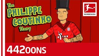 The Story of Philippe Coutinho - Powered by 442oons