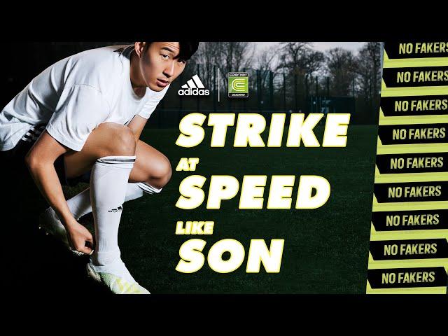 Match Academy!  Strike at Speed like Son