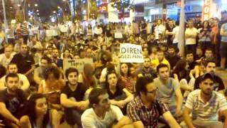 Sakarya Gezi Parkı İçin AYAKTA
