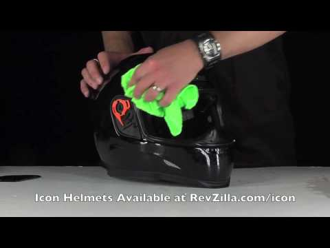 Icon Helmet Cleaning Instructions from RevZilla.com