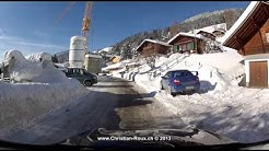 Switzerland 233 (Camera on board): Château-d'Oex & Rougemont 2D (GoPro Hero2)