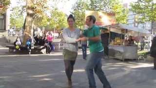 Naturally Dance - Miloš i Helena, u ulici Bulevar kralja Aleksandra, Beograd