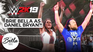 Brie Bella perfectly nails DANIEL BRYAN's entrance | WWE 2K19: Mashup Entrance