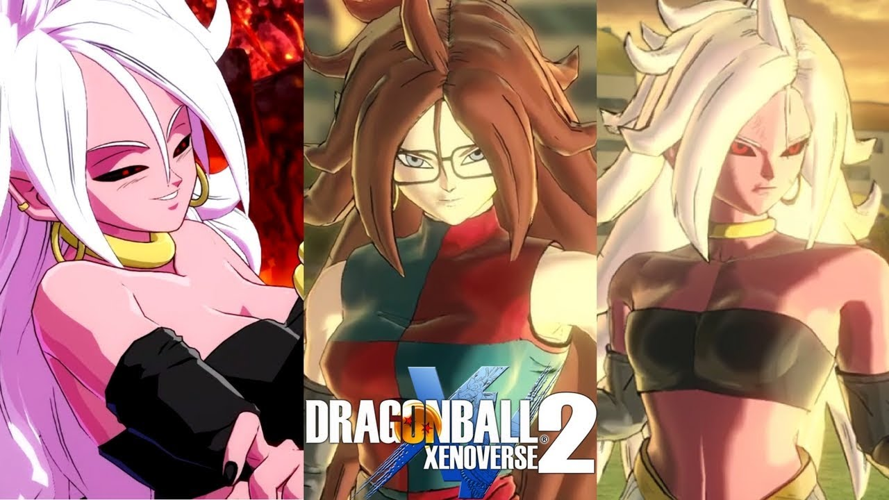 Android 21 Majin 21 Form Gameplay Db Xenoverse 2 Mods ドラゴンボール ゼノバース2