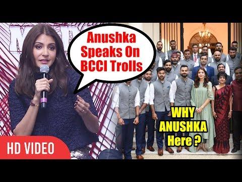 Anushka Sharma Reply On BCCI Twitter TROLLS | Anushka & Virat Group Photo