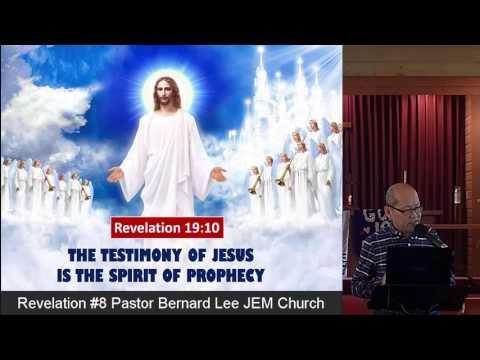 Revelation #8 Pastor Bernard Lee JEM Church
