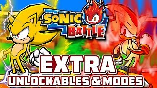 Sonic Battle - EXTRA! - Part 9: Other Modes, Unlockable Stages, & Awakened Emerl Showcase!